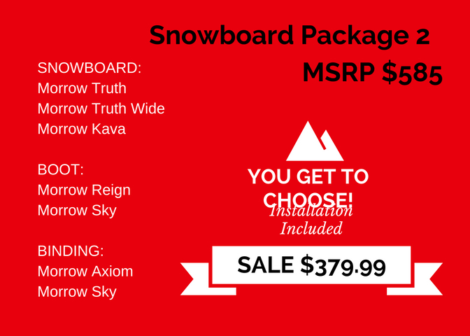 Adult Snowboard Package 2 copy
