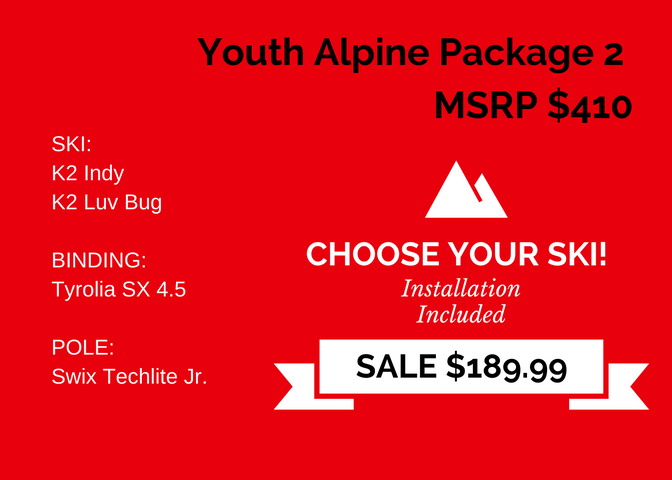 Youth Alpine Package 2 - $410 copy