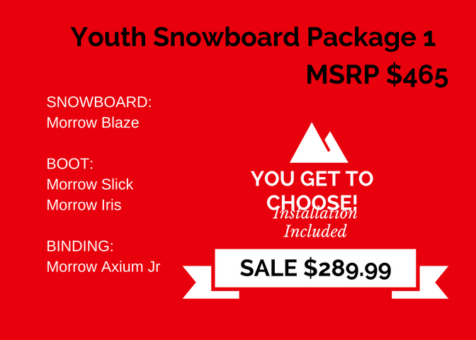 Youth Snowboard Package 1 copy