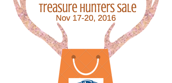 Treasure Hunter's Sale is Nov 17-20, 2016 at Shepherd & Schaller